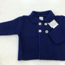 Jachetă tricotată bleumarin