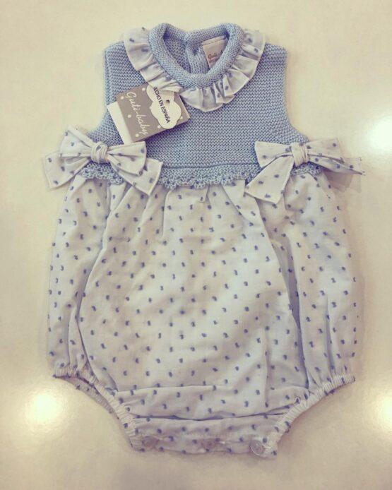 Salopetă fetițe albastră, Guti-Baby