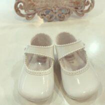 Pantofiori albi lucioși  Cuquito