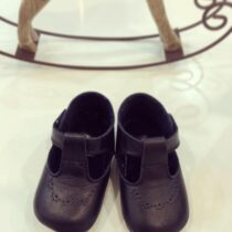 Pantofiori cu model bleumarin Cuquito