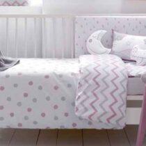 Set lenjerie pat copii cu imprimeu