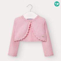 Cardigan roz tricot fetiță Mayoral