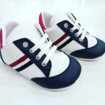 Teniși alb-bleumarin