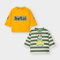 Set 2 bluze -Hello bebe băiat, Mayoral