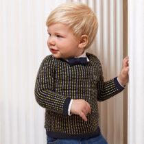 Pulover cu imprimeu geometric bebe băiat, Mayoral