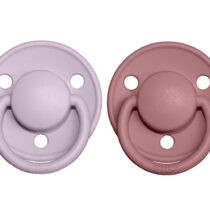 Set 2 suzete BIBS de LUX liliac-heather
