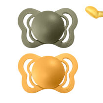 Set 2 suzete BIBS COUTURE honey bee-olive