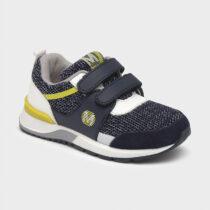 Pantofi sport bleumarin/lime băiat, Mayoral