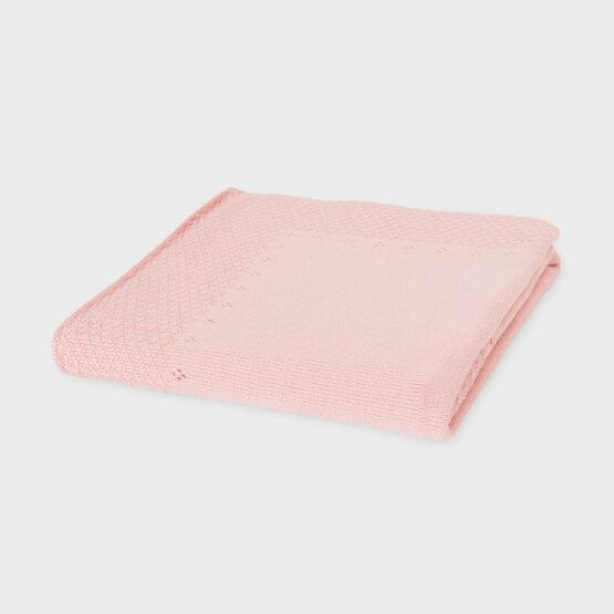 Păturică roz cu fundiță, Mayoral