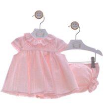 Compleu roz cu chiloțel fetițe Canicas