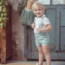 Compleu verde băieți Diana