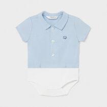 Body tip cămașă albastru nou-născut băiat Mayoral