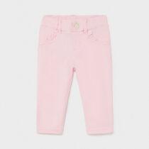 Pantaloni lungi basic roz, Mayoral