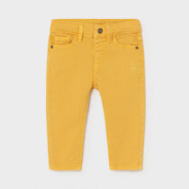 Pantaloni sarga tip denim galbeni, Mayoral