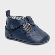 Pantofi din piele ecologică bleumarin nou-născut băiat Mayoral