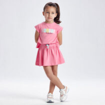 Rochie roz sport fetițe Mayoral