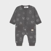 Pijama gri cu buzunărașe nou-născut băiat Mayoral
