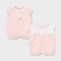 Set 2 pijamale roz cu libelulă, Mayoral