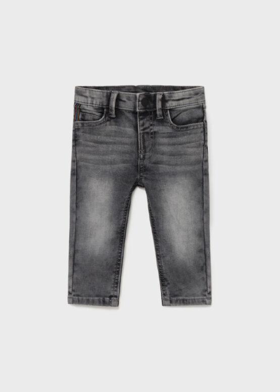 Pantaloni gri ECOFRIENDS denim slim fit Mayoral