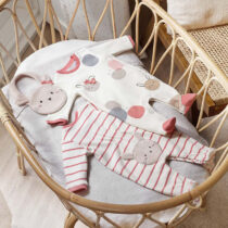 Set ECOFRIENDS 2 pijamale cu bavetică ursuleț, Mayoral