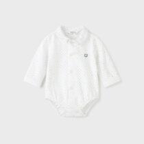 Body alb tip cămașă imprimeu ECOFRIENDS Mayoral