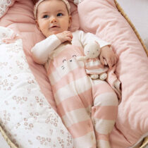 Set 2 pijamale dusty pink ECOFRIENDS cu bentiță Mayoral