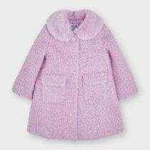 Palton lila încrețit fetițe Mayoral