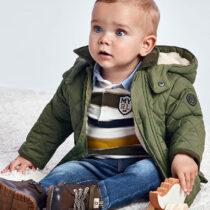 Geacă verde matlasată bebe băiat Mayoral