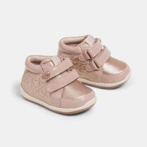 Ghete roz pentru primii pași bebe fetițe Mayoral