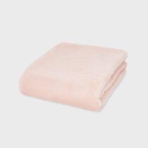 Păturică dusty pink blăniță combinată bebe Mayoral