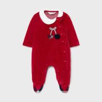 Pijama groasă roșie cu cireșe, Mayoral