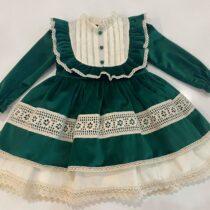 Rochita din catifea Vintage Lace -Little Rose