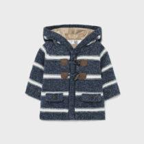 Cardigan azul din tricot nou-născut băiat Mayoral