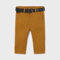 Pantaloni lungi chino cu centură bebe băiat Mayoral