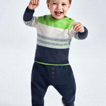 Pantaloni lungi confortabili bebe băiat Mayoral