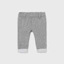 Pantaloni lungi gri cardat nou-născut băiat Mayoral