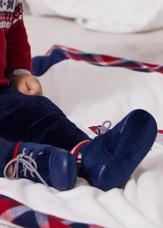 Pantofi marino combinați nou-născut băiat Mayoral