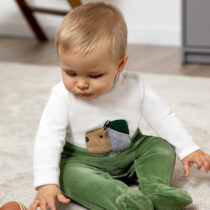 Pijama pino cu cățeluș nou-născut băiat Mayoral