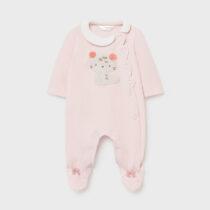 Pijama rosa baby pisicuță Mayoral