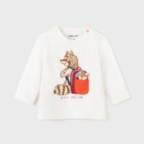 Tricou PLAY WITH raton mânecă lungă băiat Mayoral