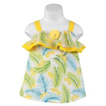 Rochiță galbenă Miranda Textil