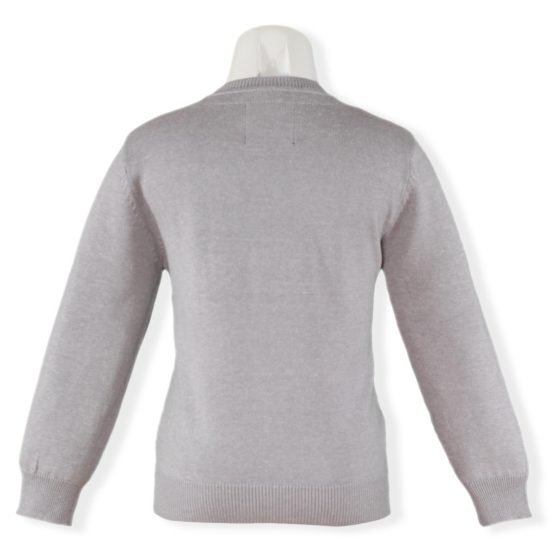 Bluza pentru baieri gri cu maneci lungi si model USA