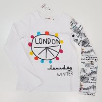 Bluza alba London Lourders