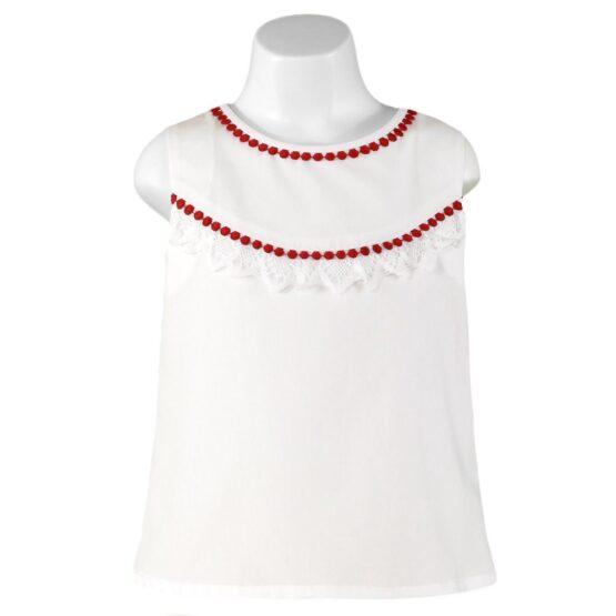Bluză albă Miranda Textil