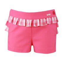 Pantaloni scurti roz Miranda Textil