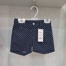 Pantaloni scurti bleumarin baieti Basmarti