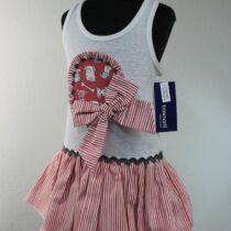 Rochita alb, roz si rosu Basmarti