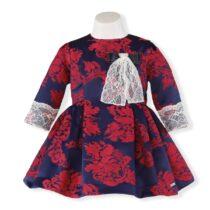 Rochita rosu-albastra Miranda Textil