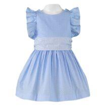 Rochiță albastră cu fundiță Miranda
