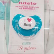 Suzeta albastra I love mami +0 luni